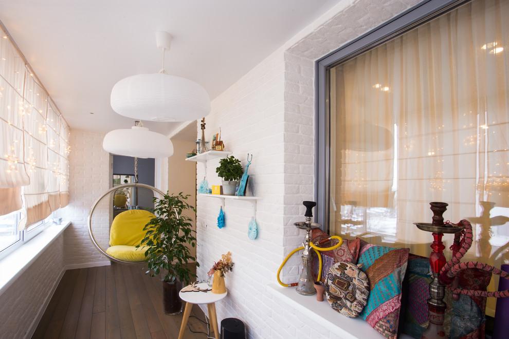 Small Contemporary Balcony Design