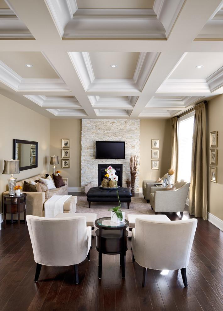 Traditional Tv Room Design