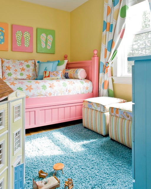 Colorful Bedroom: 20 Colorful Kids Bedroom Design Ideas