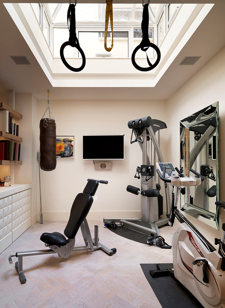 15 awesome home gym design ideas. Black Bedroom Furniture Sets. Home Design Ideas