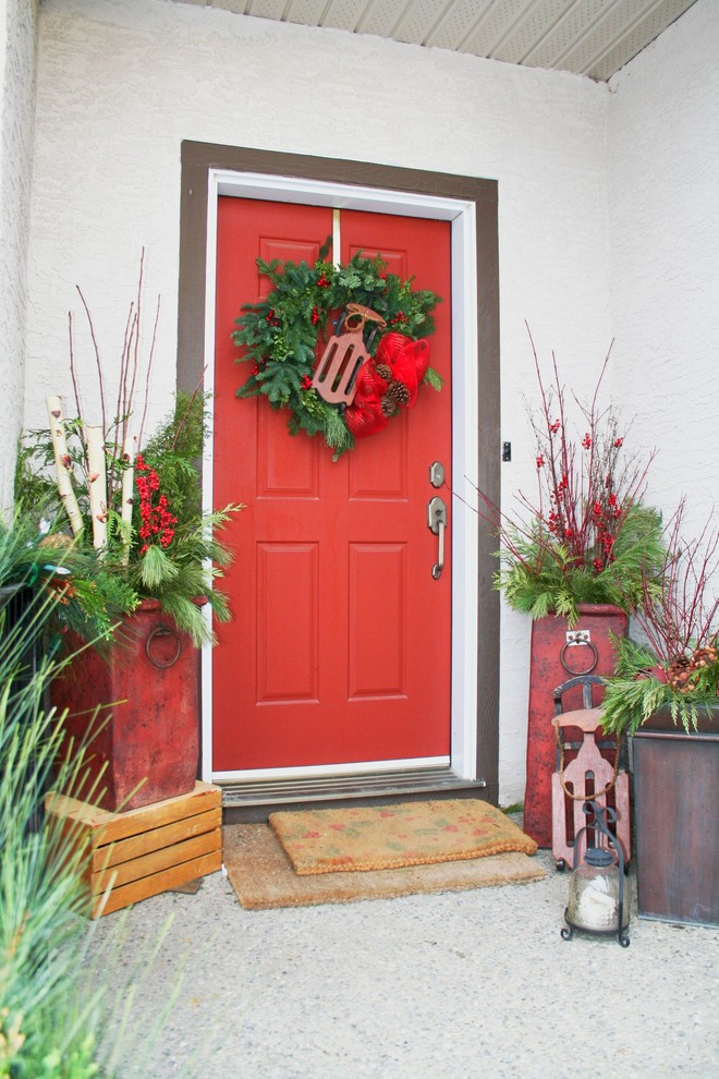 Christmas Front Entry Decoration