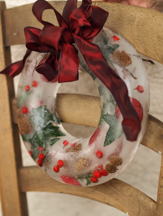 Ice Wreath Decoration