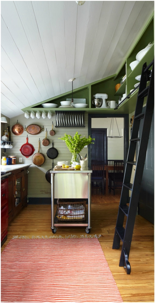 Attic Farmhouse Kitchen Design