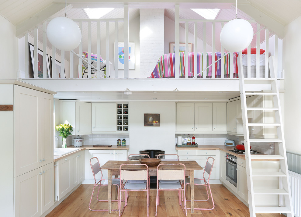 Attic Scandinavian Kitchen Design