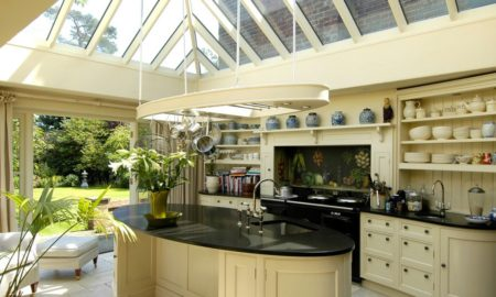 Attic Traditional Kitchen Design