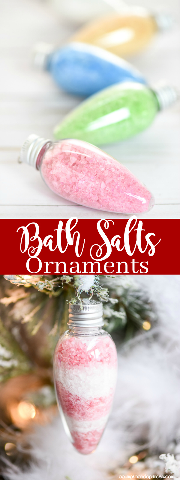 Bath Salts Ornaments