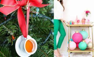 Christmas Ornaments – 51 Holiday Decoration Ideas