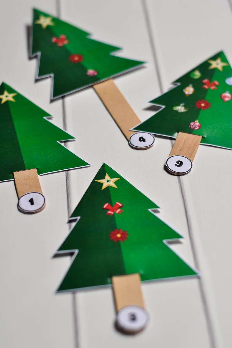 DIY Christmas Tree Game