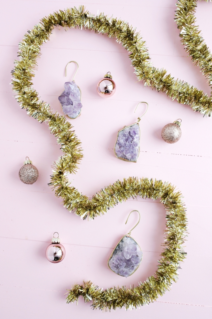 DIY Gemstone Ornament