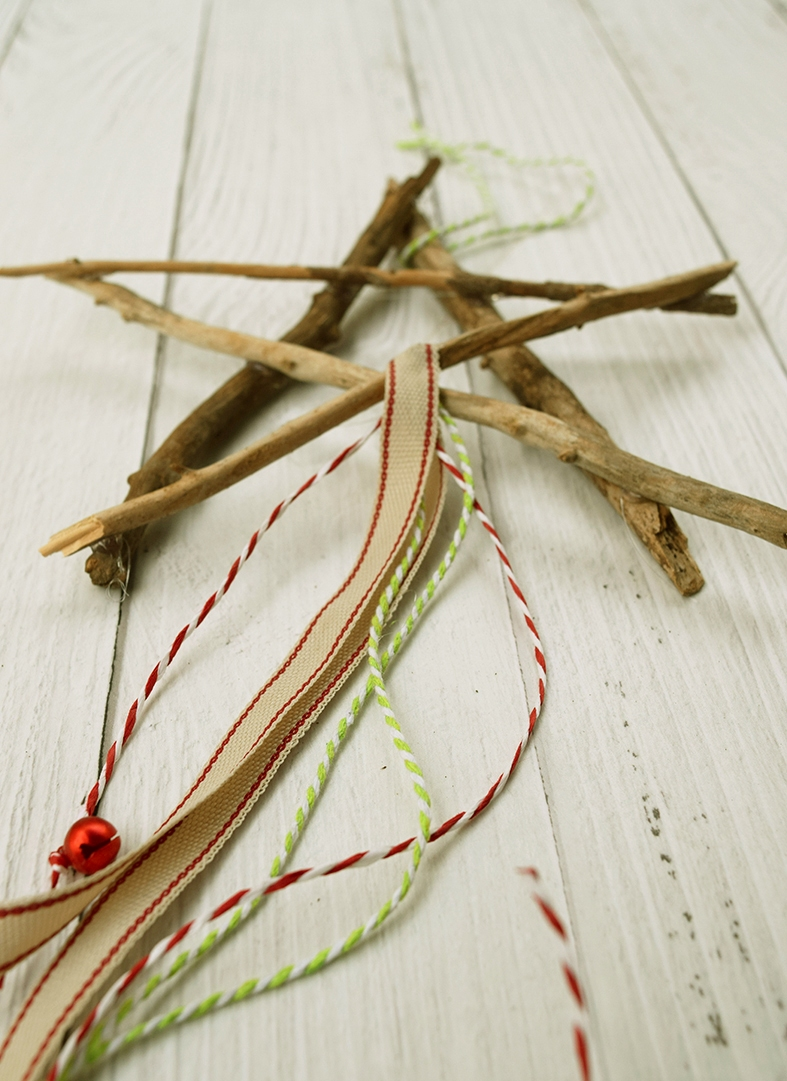 DIY Wooden Star Ornament