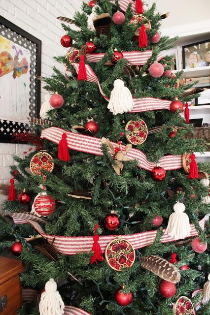DIY Interchangeable Hoop Ornaments