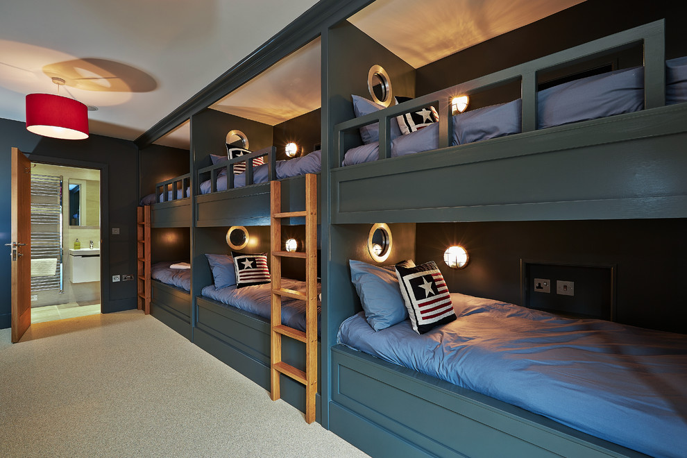 Kids Attic Contemporary Bedroom