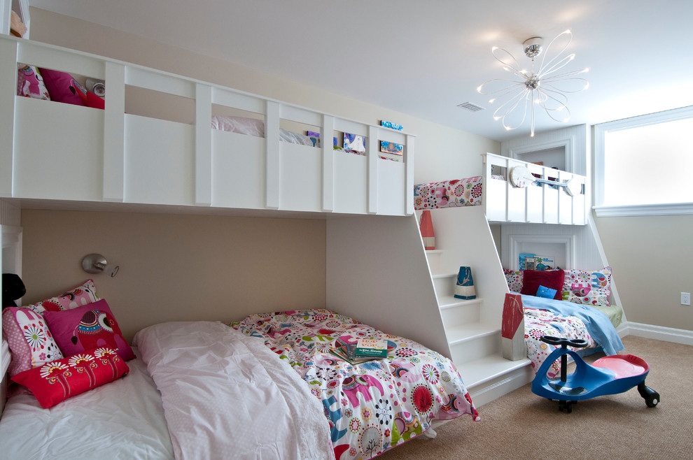 Kids Attic Craftsman Bedroom