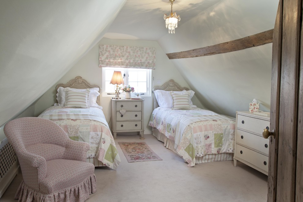 Kids Attic Farmhouse Bedroom