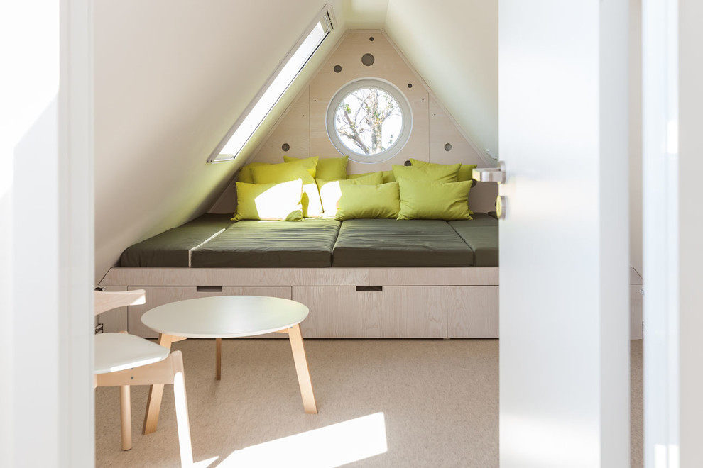 Kids Attic Modern Bedroom