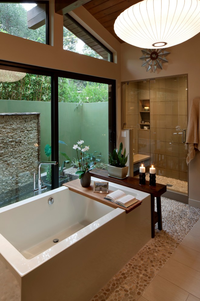 Midcentury Master Bathroom