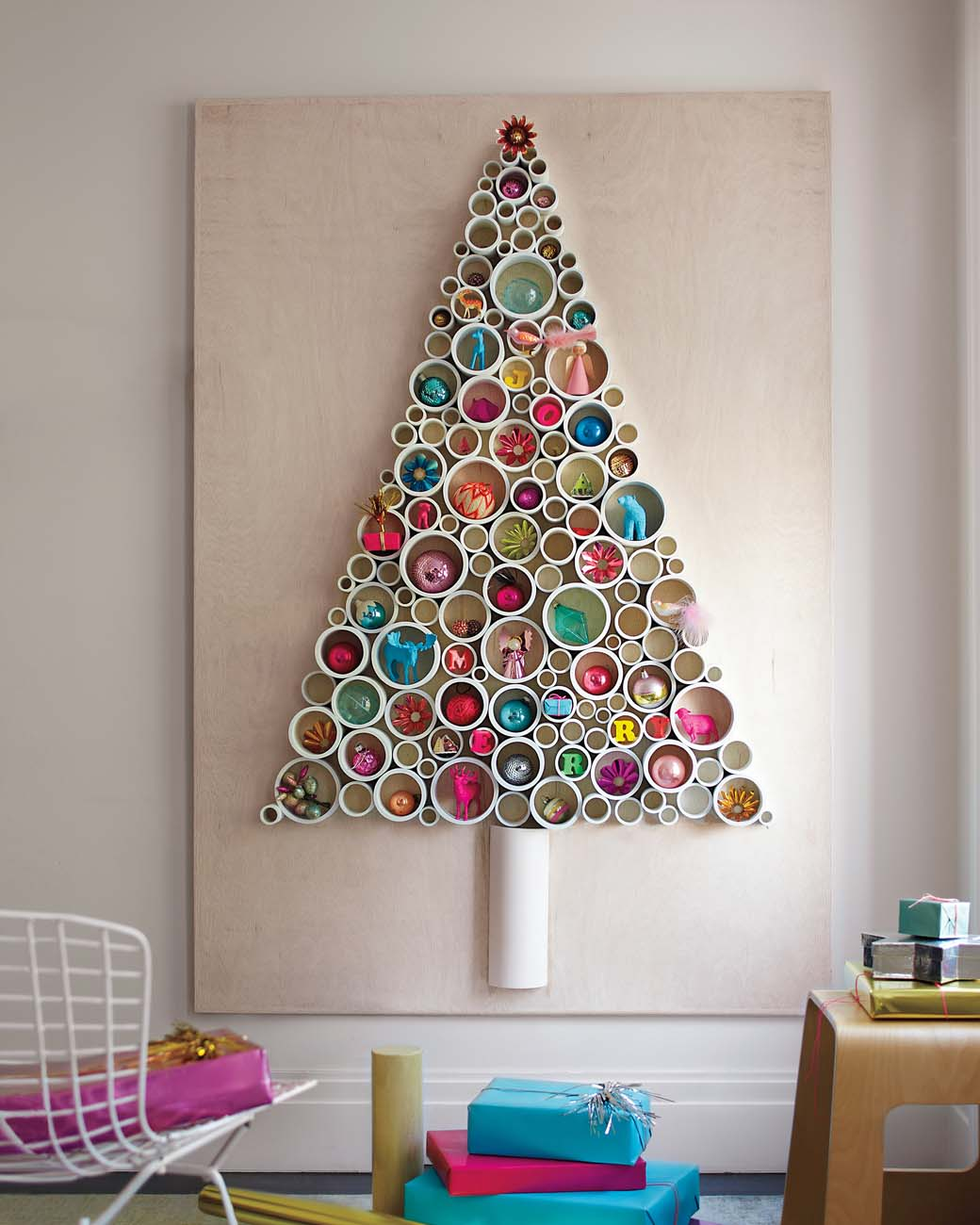 PVC-Pipe Christmas Tree