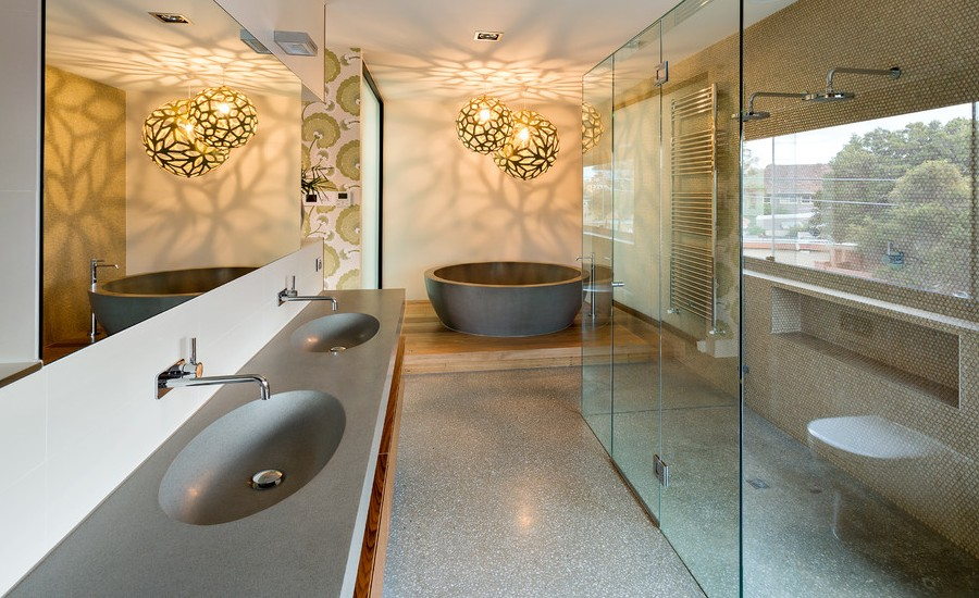 Scandinavian Master Bathroom