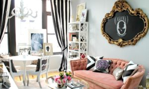 Small Shabby-Chic Style Living Room ideas