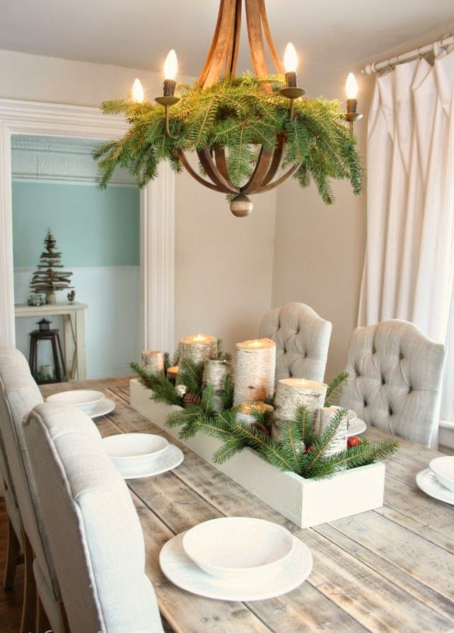 DIY Birch Box Centerpiece