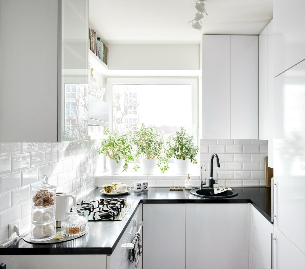 Scandinavian Small Kitchen Design