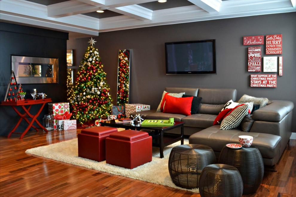 Contemporary Living Room Decoration Dwellingdecor