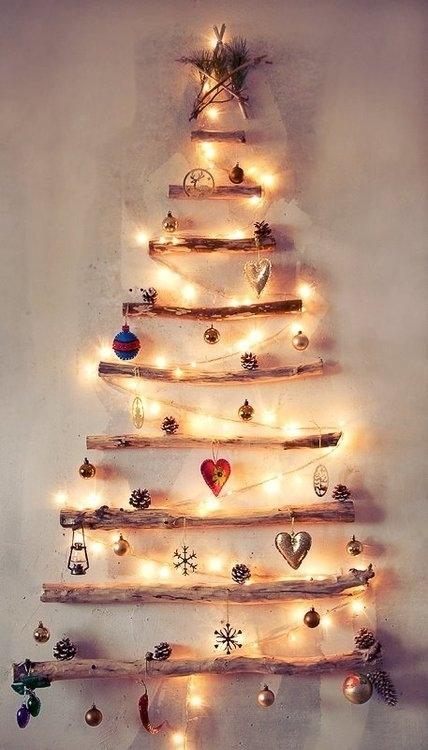 DIY Reclaimed Wood Christmas Tree Decoration Dwellingdecor