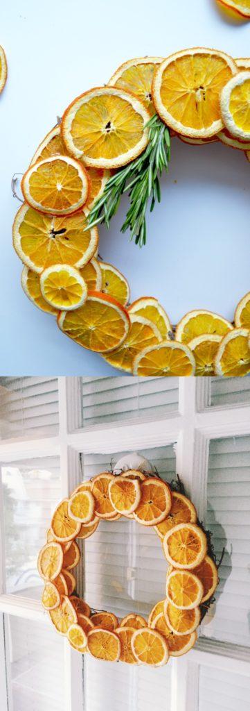 Dried Citrus Wreath Decoration Dwellingdecor