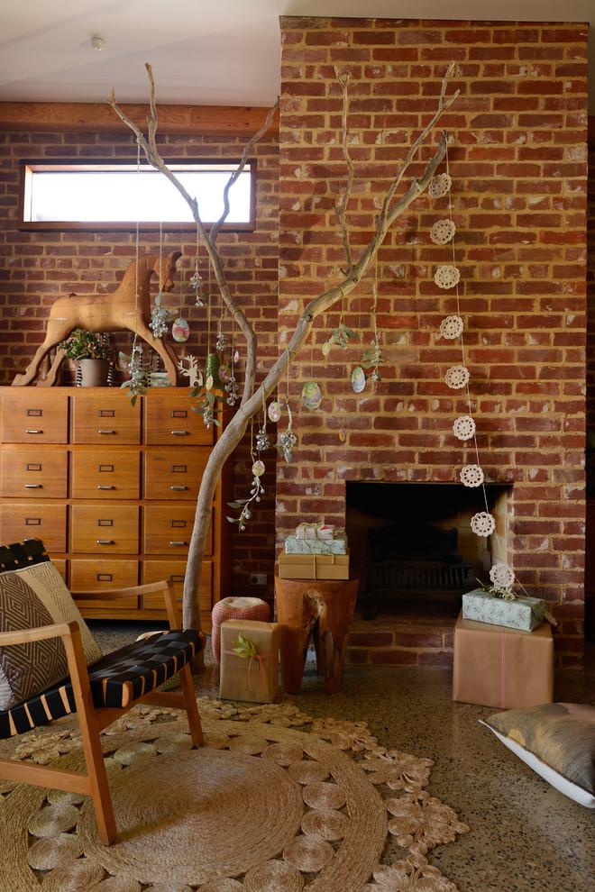 Eclectic Living Room Decoration Dwellingdecor