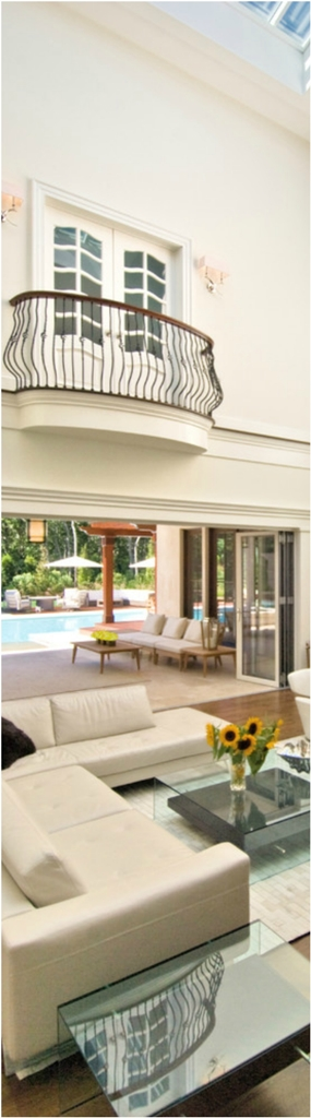 Large Mediterranean Living Room Dwellingdecor