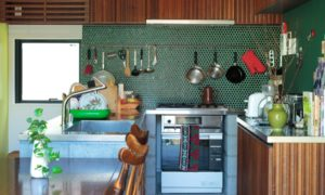 Midcentury Modern u-shaped Kitchen Dwellingdecor