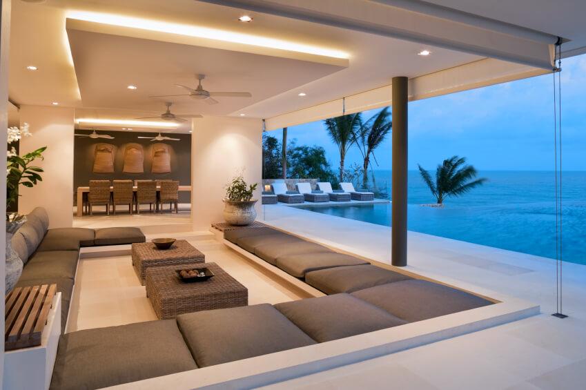 Modern Large Living Room