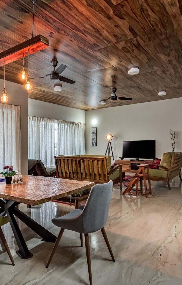 Transitional Dining Room2 Dwellingdecor