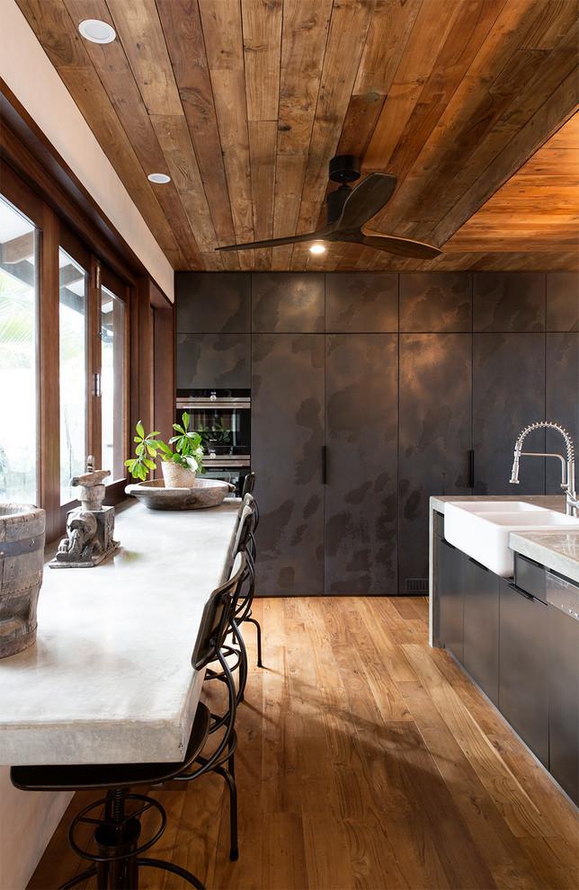 Tropical Style Kitchen Dwellingdecor