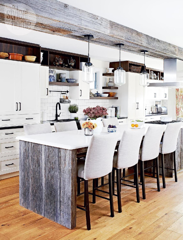 Warm Rustic Kitchen Design