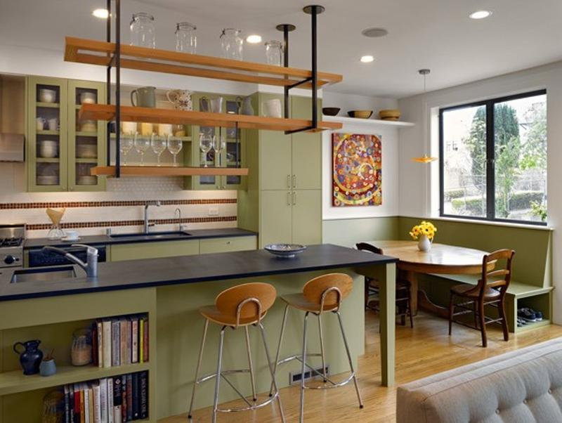 Charming Eclectic Kitchen Dwellingdecor