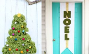 30 Christmas Door Decorating Ideas