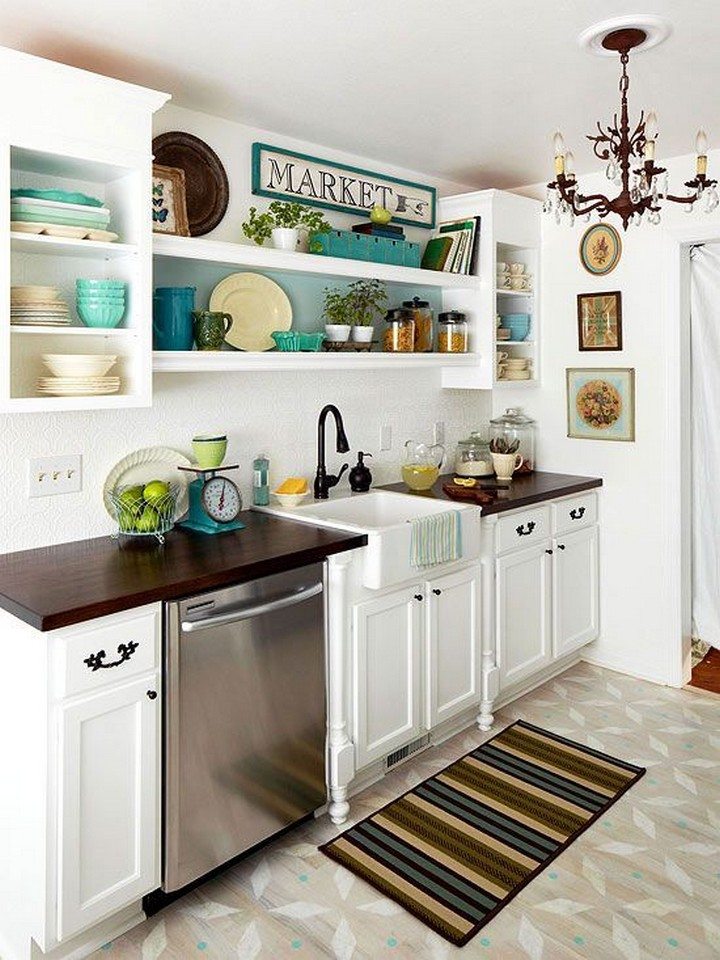 Elegant Small Kitchen Design Dwellingdecor