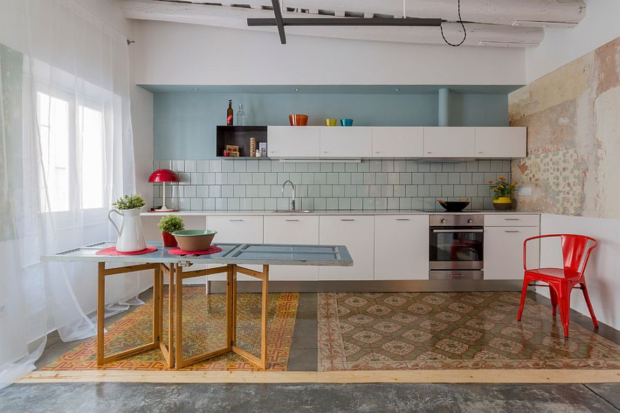 Modern Eclecic Kitchen Design Dwellingdecor