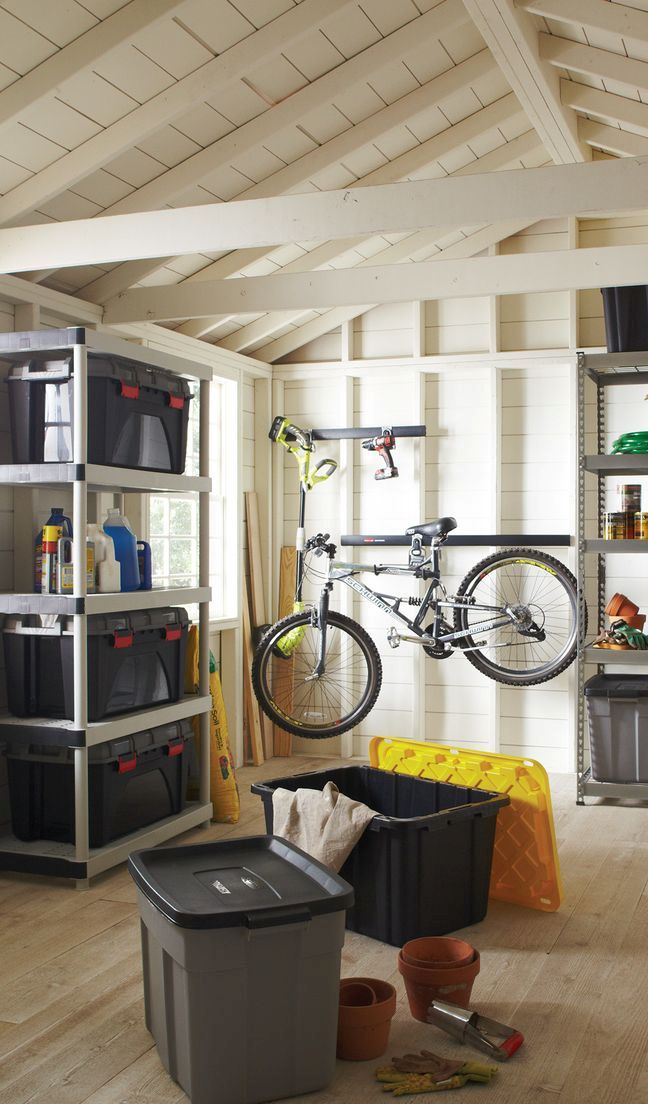 Smart Storage Solution With plastic storage bins