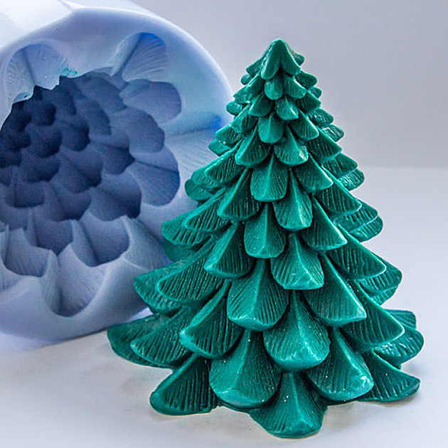 Soap Mold Christmas Tree dwellingdecor