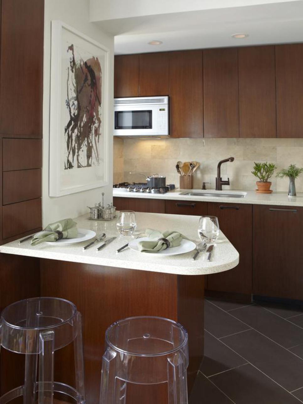 Sophisticated Tiny kitchen Dwellingdecor