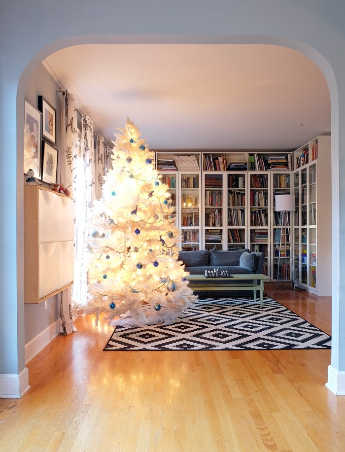 White Christmas Tree Dwellingdecor