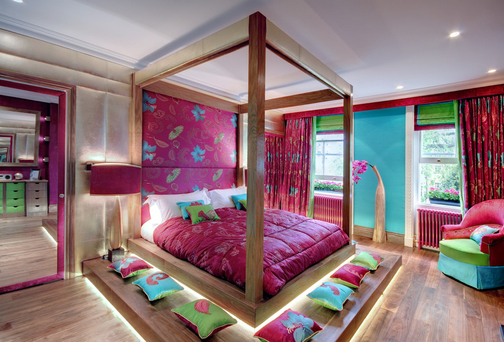Asian Style Balinese inspired bedroom dwellingdecor