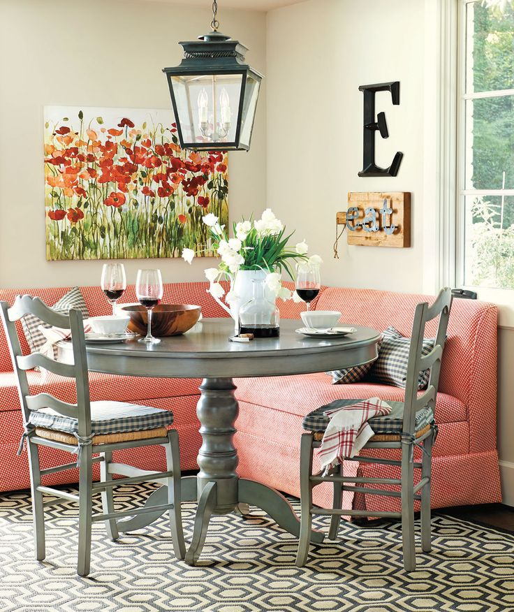 Breakfast Nook Ideas For Your Kitchen dwellingdecor (24)