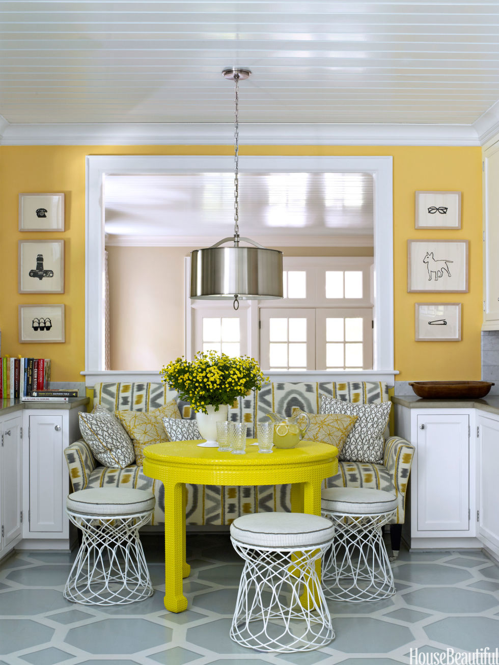 Breakfast Nook Ideas For Your Kitchen dwellingdecor (31)