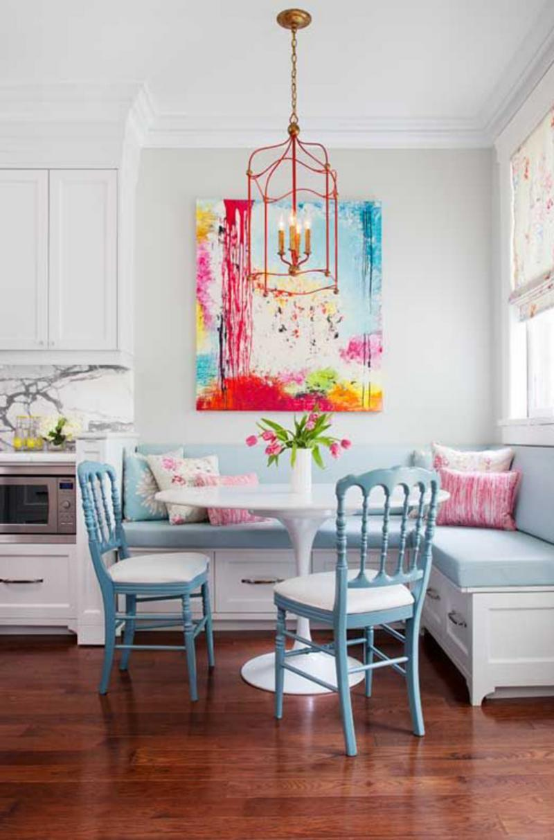 Breakfast Nook Ideas For Your Kitchen dwellingdecor (38)