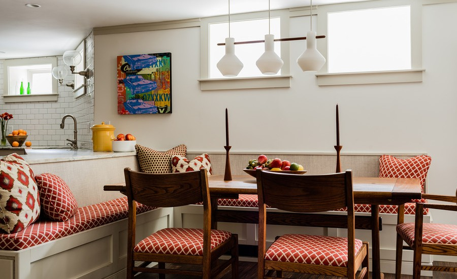 Breakfast Nook Ideas For Your Kitchen dwellingdecor (5)