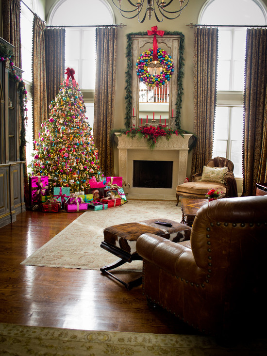 Christmas Living Room Decorations dwellingdecor (15)