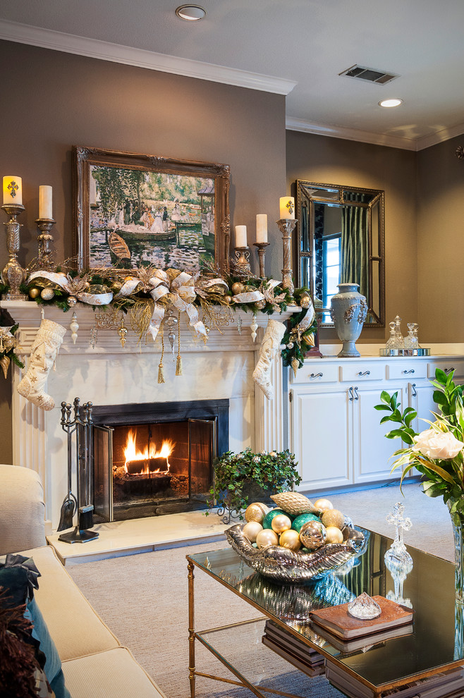 Christmas Living Room Decorations dwellingdecor (2)